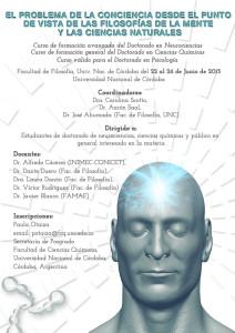 Curso_Filosofia de la MEnte_DoctoradoNeurociencias_UNC_2015