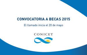 becas conicet 2015